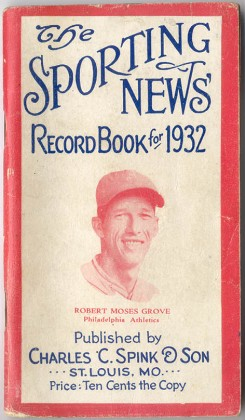 Lefty Grove Books and Magazines
